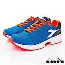 DIADORA-義大利設計慢跑款 172074-C4415深藍(男段)G