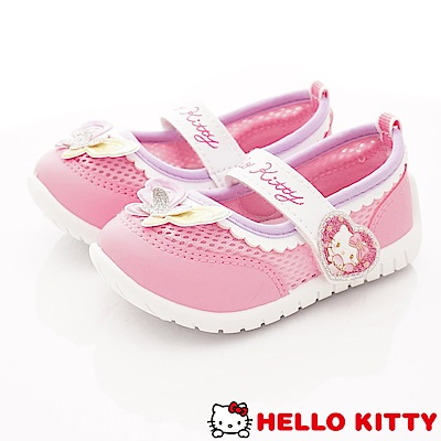 HelloKitty童鞋 繽紛透氣娃娃鞋款 SE19804粉(小童段)