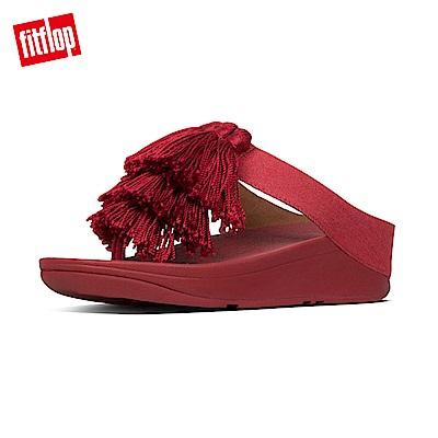 FitFlop BAMBA夾腳涼鞋激情紅