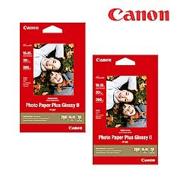 CANON PP-201 4X6超光亮相片紙(40張/2包)
