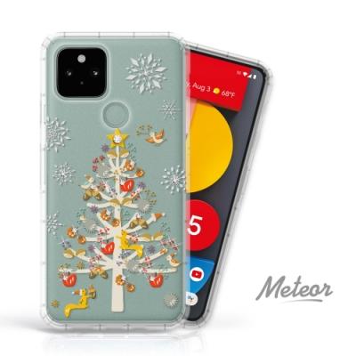 Meteor Google Pixel 5 奧地利水鑽殼 - 聖誕樹派對(多鑽版)