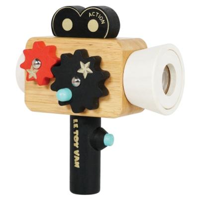 英國 Le Toy Van 角色扮演系列-好萊塢萬花筒攝影機玩具組