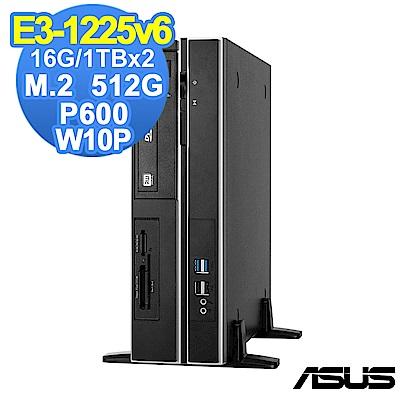 ASUS WS 660  SFF E 31225 v 6 / 16 G/ 2 T+ 512 G/P 600 /W 10 P