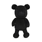 agnes b. café barista 黑色燈心絨小熊