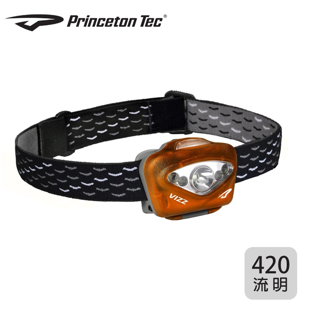 PrincetonTec 專業VIZZ頭燈VIZZ350-OR 橘色