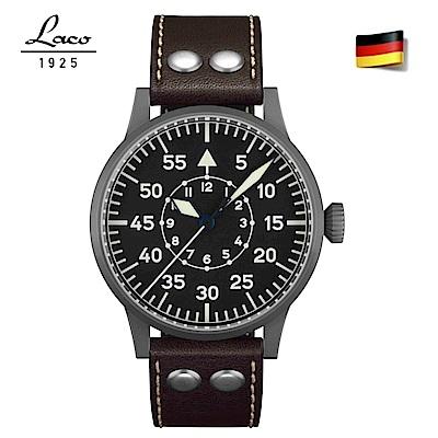 Laco朗坤 861753 德國工藝 ETA機芯2824.2自動上鍊飛行員機械手錶
