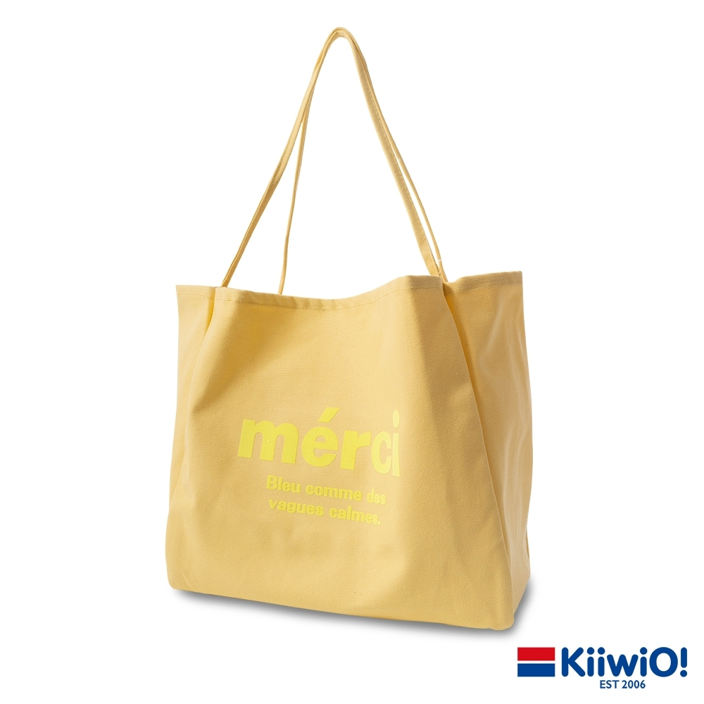 Kiiwi O! 糖果色百搭大容量帆布單肩包 MERCI (多色選) product image 1