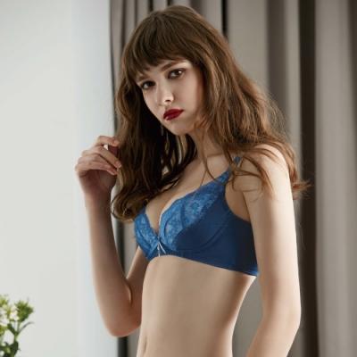 瑪登瑪朵 無鋼圈內衣 B-F罩杯(寶石藍)