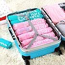PUSH!居家生活用品手壓式手捲真空壓縮袋旅行便攜袋套裝組合(1組6入裝)S59