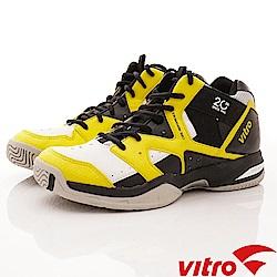 Vitro韓國專業運動品牌-RANKERS2.0MID網球鞋-黃黑(男)