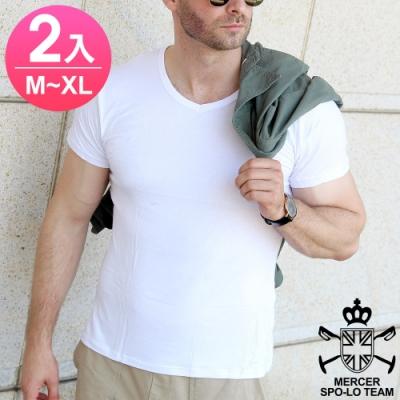 麥瑟保羅 MERCER SPO-LO 休閒涼感柔暖短袖(M-XL 3件)