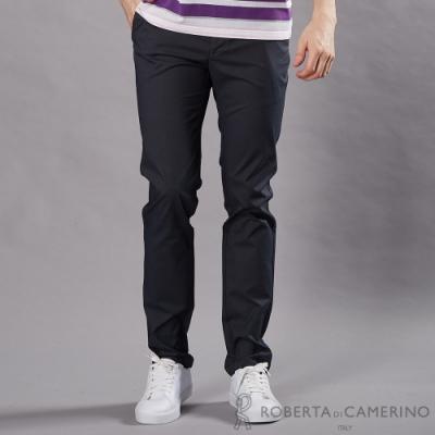ROBERTA諾貝達 合身版 簡約時尚 純棉休閒褲 鐵灰