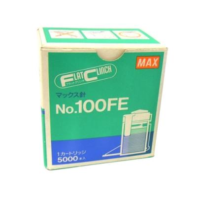 美克司 MAX NO.100FE 電動釘書針 EH-100F專用 5000pcs/盒 5入