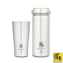 鍋寶 316不鏽鋼內陶瓷保溫杯瓶組-共2入 EO-SVCT3649VBT3656