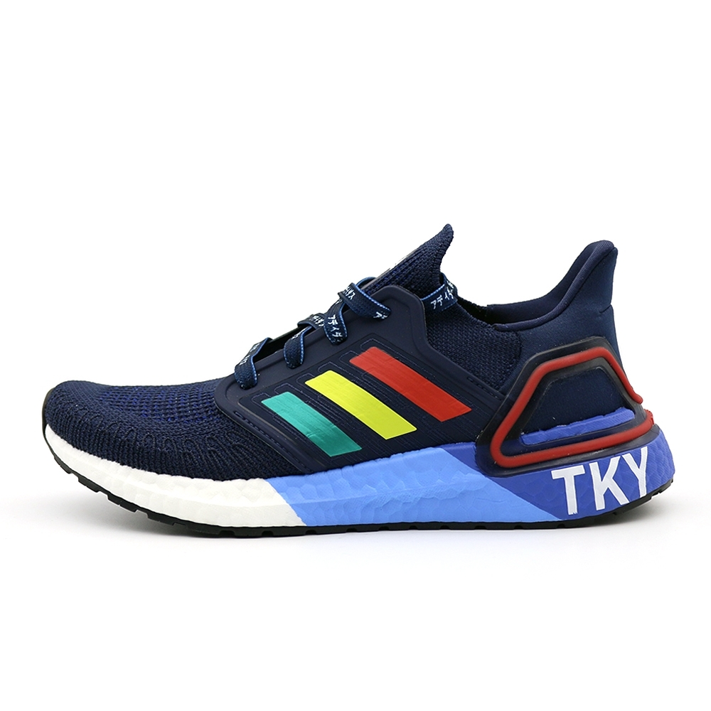 Adidas ULTRABOOST 20 City Pack Hype 男 慢跑鞋 紅白藍-FX7811