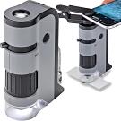 《CARSON》LED隨行顯微鏡(100x-250x)+鏡頭夾