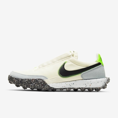 NIKE WAFFLE RACER CRATER 女休閒鞋-米白-CT1983102