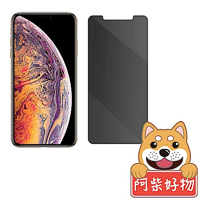 阿柴好物 Apple iPhone Xs Max 非滿版 防窺玻璃保護貼