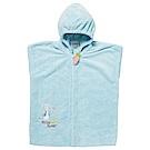 奇哥 比得兔吸濕快乾浴袍-藍(3~5Y)