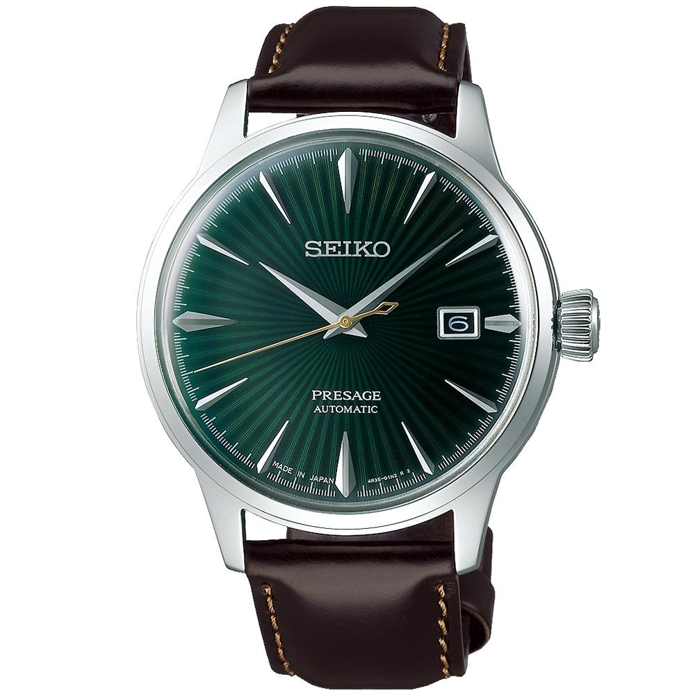 SEIKO精工 PRESAGE 調酒師動力儲存機械錶(SRPD37J1)