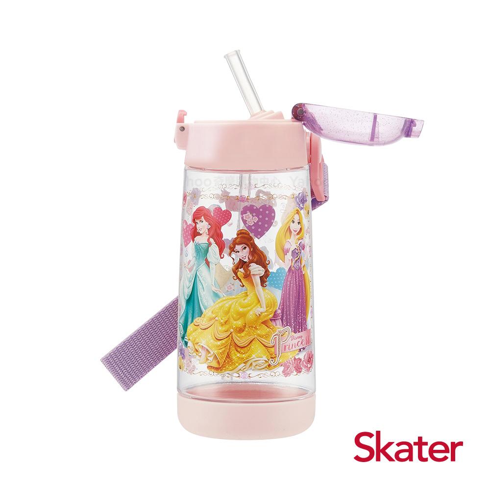 Skater PET吸管水壺(480ml) 迪士尼公主