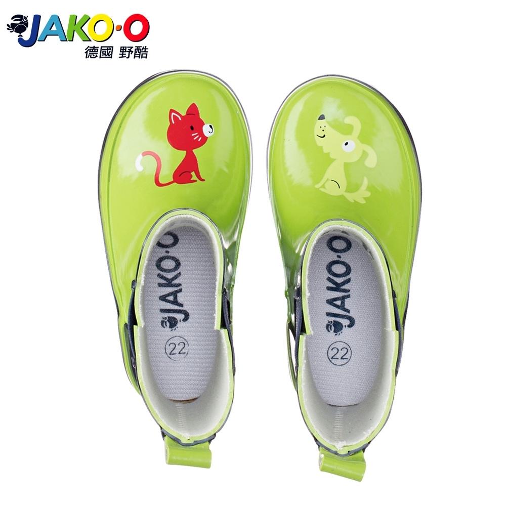 JAKO-O德國野酷 Lili&Rex 雨靴-蘋果綠 (兒童雨鞋)