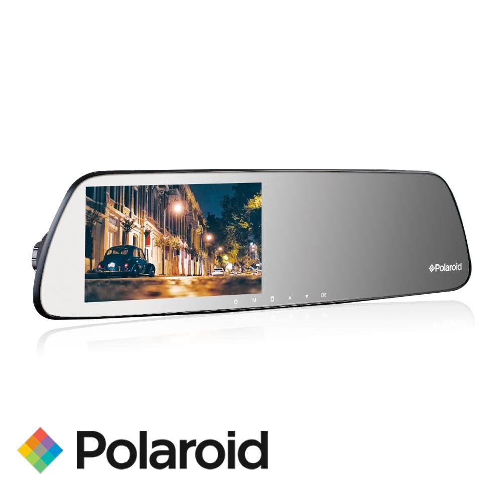 Polaroid 寶麗萊DS502GS星光夜視FHD1080P後照鏡行車紀錄器