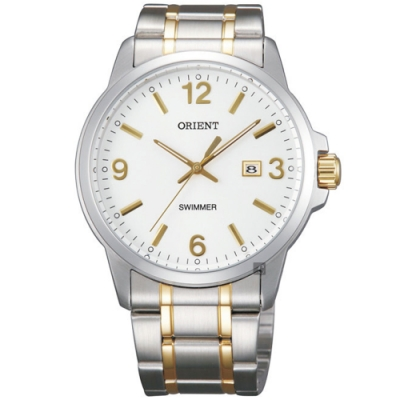ORIENT 東方錶 OLD SCHOOL系列 復古風石英錶(SUNE5002W)