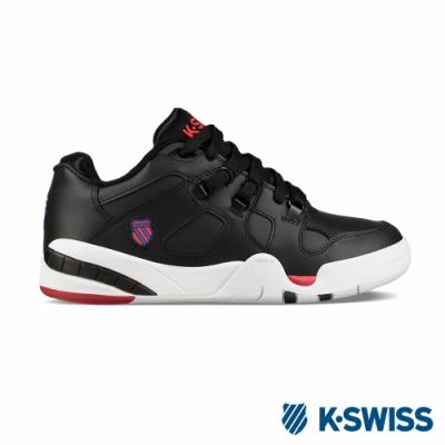 K-SWISS Caprina復古老爹鞋-男-黑