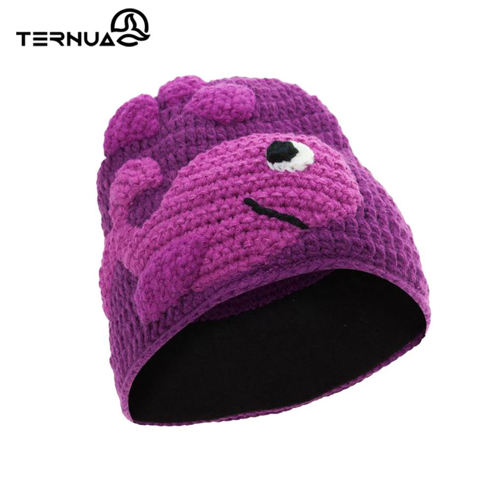 TERNUA 童保暖毛帽2661667【紫色】