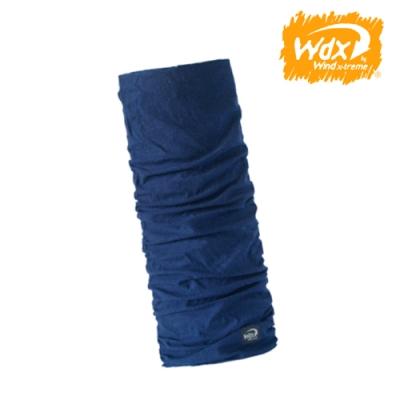 Wind x-treme 美麗諾羊毛保暖多功能頭巾 5014 深藍(透氣、圍領巾、西班牙)