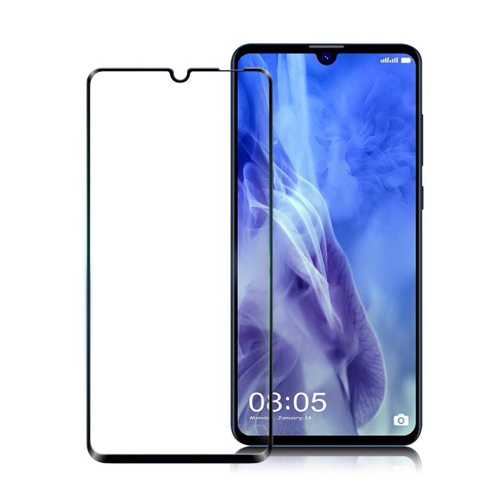 Xmart for HUAWEI Nova 4e 超透滿版 2.5D鋼化玻璃貼-黑