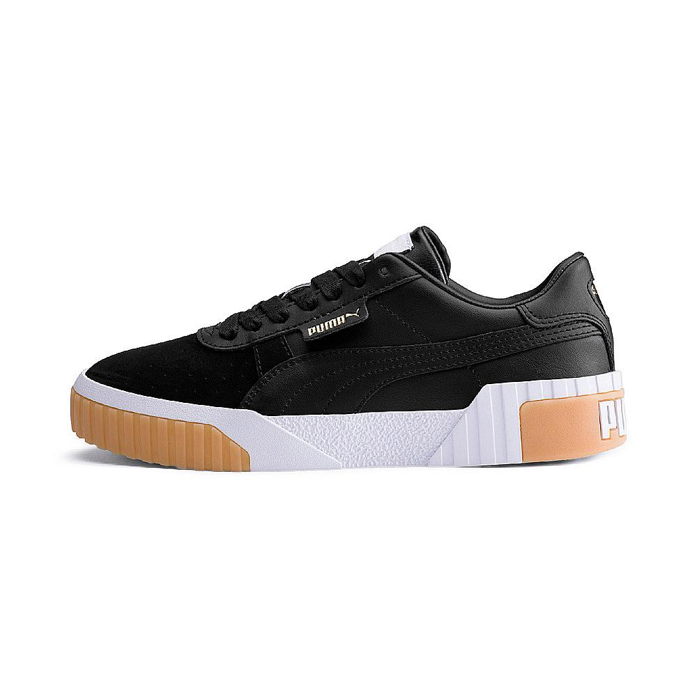 PUMA-Cali Exotic Wn s女性復古休閒鞋-黑色
