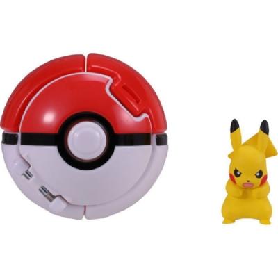 任選Pokemon GO 神奇寶貝  PokeDel-z 寶貝球(皮卡丘)_PC10685 TAKARA TOMY