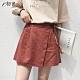 初色  高腰綁帶短褲裙-共2色-(L-2XL可選) product thumbnail 1