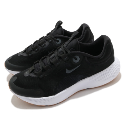 Nike 慢跑鞋 React Escape RN 運動 女鞋 輕量 透氣 舒適 避震 路跑 健身 黑 白 CV3817002