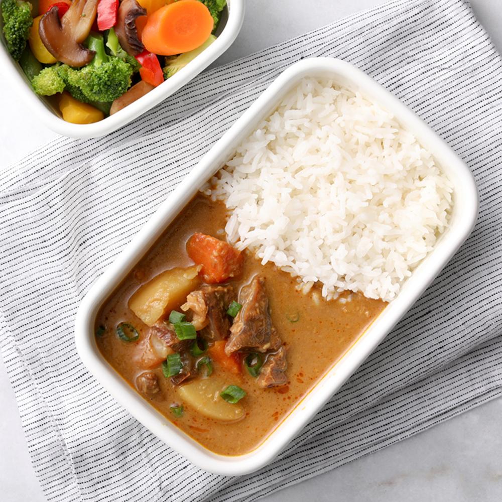 花蓮家咖哩 南洋咖哩料理包-板腱牛肉(260gx4包)