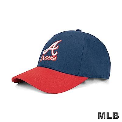MLB-亞特蘭大勇士隊可調式復古球帽