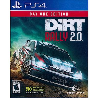大地長征:拉力賽 2.0 首日版 DiRT Rally 2.0 - PS4 英文美版