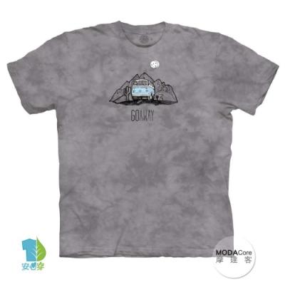 摩達客-美國進口The Mountain 渡假露營車 純棉環保中性短袖T恤
