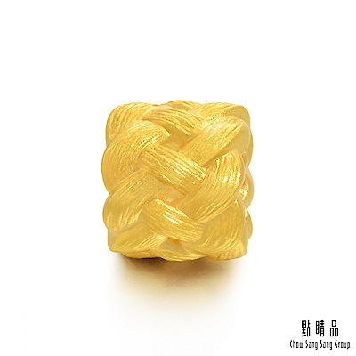 點睛品 Charme 文化祝福 福氣長壽繩 黃金串珠