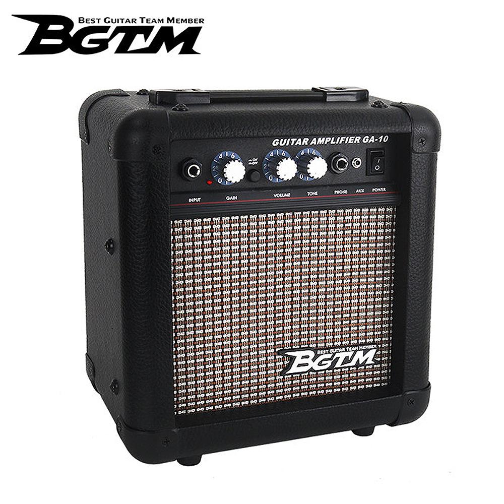 BGTM GA-10X 電吉他音箱10W-格紋(具備AUX功能