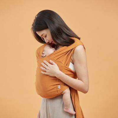 inParents Snug 懷旅揹⼱ - 穿衣式嬰兒安撫揹巾| 快速穿脫 , 柔軟舒適