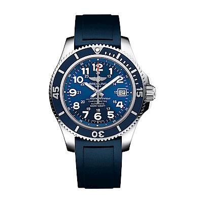 BREITLING 百年靈超級海洋計時腕錶 水手藍