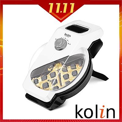 KOLIN歌林 傾斜直立式防溢35度導流不沾鬆餅機(KT-A1701H)