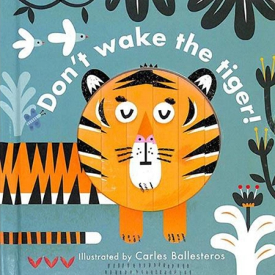 Little Faces:Don t Wake The Tiger 變臉操作書:動物篇