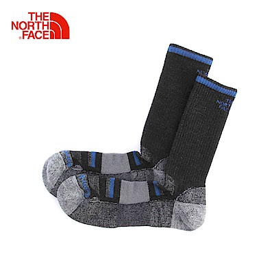 The North Face北面黑色保暖舒適通用長筒襪 3CNP8UX