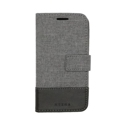 PKG 華碩 Zenfone Live ZB501KL側翻保護殼-國際時尚款-紳士黑
