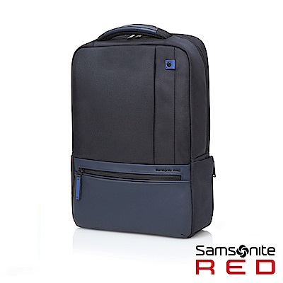 Samsonite RED KLEVE 多夾層通勤筆電後背包15.6(灰藍)