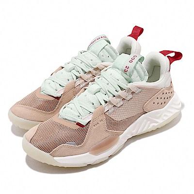 Nike 休閒鞋 Jordan Delta 冠希著 男鞋 Vachetta Tan 喬丹 React中底 舒適 米 綠 CD6109200